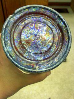 bottle patina